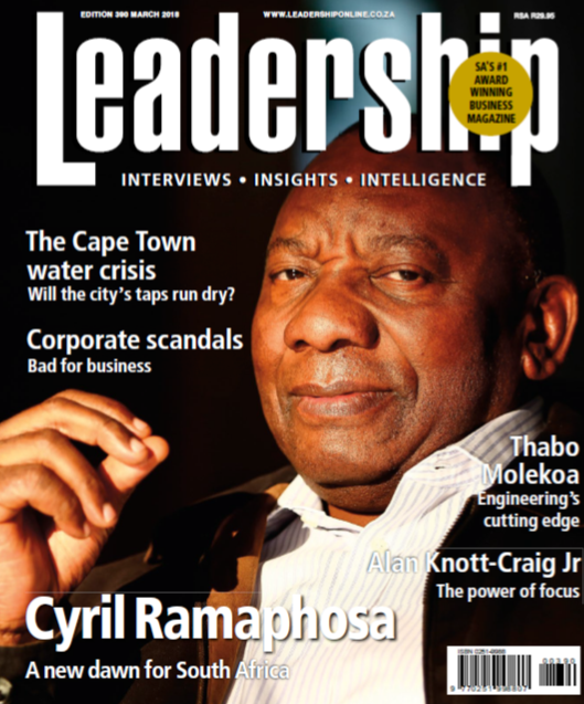 Mr President Cyril Ramaphosa Cometh The Hour Cometh The Man Trailblazers